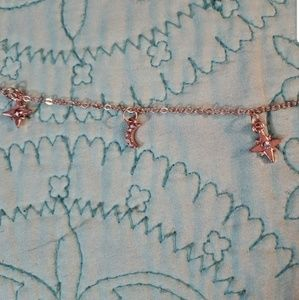 Jewelry - Boutique   Rose Gold Star and Moon Necklace